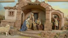 Foro de Belenismo - Arquitectura y paisaje -> Belenes de sobremesa (PAP fotográfico) Tikal, Christmas Crib Ideas, Christmas Crafts, Christmas Nativity Scene, Miniature Rooms, Portal, Cribs, Miniatures, 1