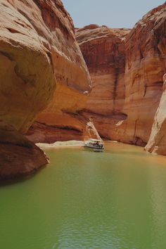 Spending the day enjoying Lake Powell in Page, Arizona
