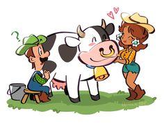 Super Mario Brothers, Super Mario Bros, Mario Comics, Luigi And Daisy, Princess Daisy, Funny Games, Games To Play, Bowser, Fangirl
