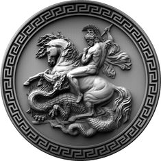 This product is designed for CNC machining. This model can be applied to any program CNC like Aspire, Artcam, etc. You also cannot include model in another design or in any format, or give them away for free. Tattoo Bauch, Greek Mythology Tattoos, Saint George And The Dragon, Ancient Greek Sculpture, 3d Cnc, Coin Art, Greek Art, Arm Tattoos For Guys, Aesthetic Art