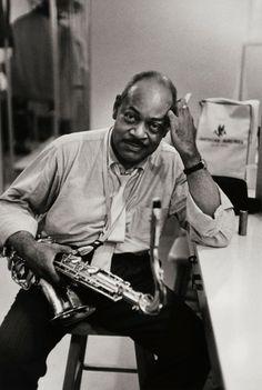 William Claxton: Coleman Hawkins