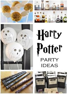 So cute :) 20 Harry Potter Party Ideas - Centsational Girl