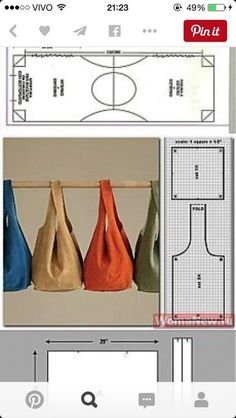 Sewing fabric bags purse patterns 57 ideas Source by pmluxich and bags patterns Bag Patterns To Sew, Sewing Patterns, Quilt Patterns, Diy Pouch No Zipper, Japanese Knot Bag, Pouch Pattern, Diy Purse, Fabric Bags, Fabric Purses