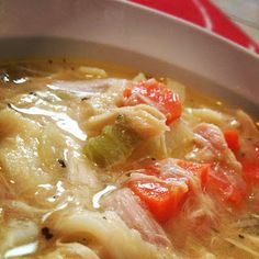 The Nummy Little Blog: Slow-Cooked Chicken Noodle