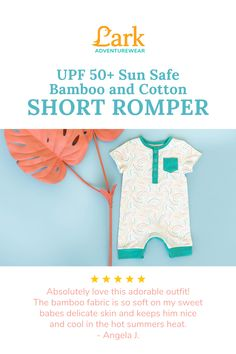 The short romper from Lark Adventurewear is super soft, breathable, easy to put on your wiggly toddler, and Lark added buttons so you can easily change their diaper. The short romper was designed to cover your baby's little knees making it perfect for active crawlers. Grab a gender-neutral short romper in every color and pattern to help your baby or toddler stay comfy and cool this summer. Baby Outfits, Toddler Outfits, Kids Outfits, Toddler Girl Gifts, Toddler Pajamas, Cute Baby Clothes, Gender Neutral, Kids And Parenting