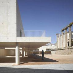 Entorno del Templo de Diana por José María Sánchez García