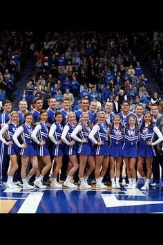 20th  National Championship for the Kentucky Wildcats Cheerleaders. (2013)