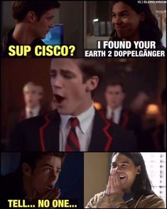 Who else knew Grant was on glee before? Fun fact Melissa Benoist was on glee as well!