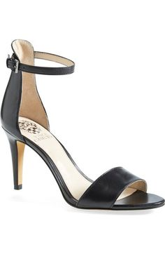 Vince Camuto 'Court' Ankle Strap Sandal (Women) available at #Nordstrom - $79.90 (05/15/16) in 10 colors