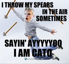 LOL Alexander Ludwig as Cato, Hunger Games Hunger Games Memes, Hunger Games Fandom, Hunger Games Catching Fire, Hunger Games Trilogy, Tribute Von Panem, I Volunteer As Tribute, Mocking Jay, I Laughed, Laughter