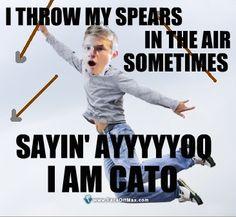 AYYYYOOO! I AM CATO! hahaha