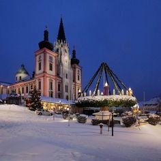 #Basilika in #Mariazell zu Weihnachten