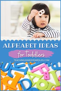 There are so many fun toddler alphabet activities that are simple, playful, and fun. Each of these 16 activities expose toddlers to letters through play and hands-on exploration. No flash cards necessary! #toddlers #alphabet #letters #activities #learning #literacy #2yearolds #teaching2and3yearolds Pre K Activities, Motor Skills Activities, Kids Learning Activities, Alphabet Activities, Hands On Activities, Toddler Alphabet, Alphabet For Toddlers, Toddler Play, Toddler Preschool