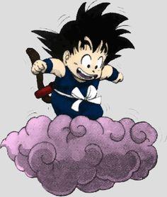 Dragon Ball - little Goku