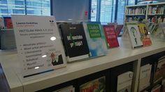 Yrittäjän päivää vietetään 5.9.  Aiheeseen liittyvä kirjanäyttely esillä Tikkurilan Laurea-kirjastossa - tarjolla kirjoja sekä printtinä että eenä!