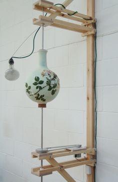 Blueware Vases   * Glithero * #Cyanotype #sunprint #blauwdruk