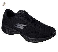 Skechers Go Walk 4 Glorify Womens Walking Sneakers Black 8.5 W - Skechers sneakers for women (*Amazon Partner-Link)