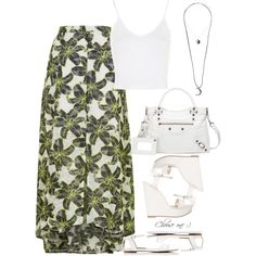 Outfit by alwayswearwhatyouwanttowear on Polyvore featuring Topshop, Atmos&Here, Forever New, Balenciaga, outfit, outfits and fashionset