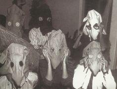 Máscaras Sensoriais, 1967 (Sensory Masks) by Lygia Clark