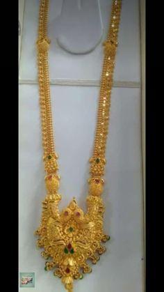 Gold Haram Designs, Gold Earrings Designs, Gold Jewellery Design, Diamond Jewellery, Necklace Designs, Gold Jewelry Simple, Gold Wedding Jewelry, Simple Necklace, Indian Jewelry Earrings