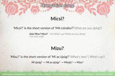 Mini language lesson Hungarian slang – Daily News Hungary Spanish Activities, Language Activities, French Lessons, Spanish Lessons, German Language, Dual Language, Chinese Language, Japanese Language, Spanish Language