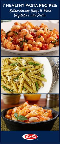 Back-to-school season is upon us, so it's time to start collecting weeknight recipe ideas! Here are some delicious, easy-to-prepare pasta dishes that sneak in the goodness of veggies that your family needs.