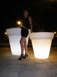 Buy Olive Tree, Grands Pots, Led, Flower Pots, Flowers, Palm Springs, Bathtub, Outdoor Decor, Design
