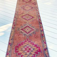 Lumia Faded Blush Handwoven Turkish Hallway Kitchen Runner Rug #Unbranded #Turkish
