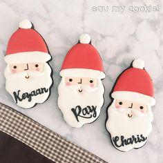 Santa Cookies, Xmas Cookies, Mavis, Cookie Cutters, Instagram Posts, Desserts, Food, Tailgate Desserts, Deserts