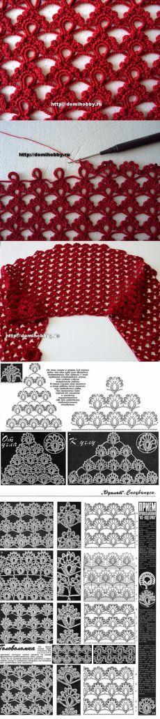 Πώς να πλέκει δαντέλα HOOK μοτίβο |  blog Irimed