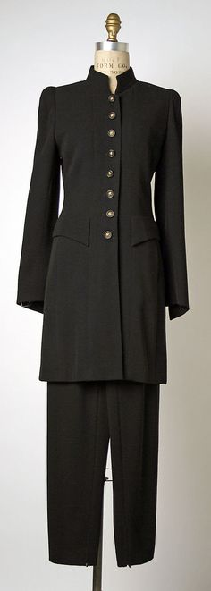 Date: 1995–96 House of Chanel  Culture: French Medium: (a, b) wool This love this design.