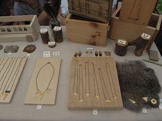 jewelry display - 8th Annual Renegade Craft Fair Brooklyn 2012 by renegadecraftfair, via Flickr
