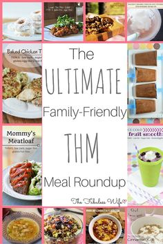 Family-friendly THM recipes are the best! Here's a great list from some of your favorite THM bloggers!