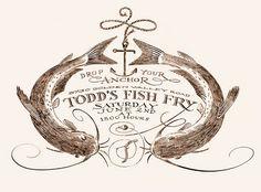 Fish Fry Invitation Printable Party Invitation on Etsy 1200