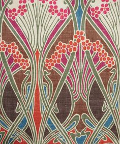 Brown Ianthe Print Linen Union, Liberty Furnishing Fabrics. Shop more classic Liberty print upholstery fabrics from the Liberty Art Fabrics collection at Liberty.co.uk