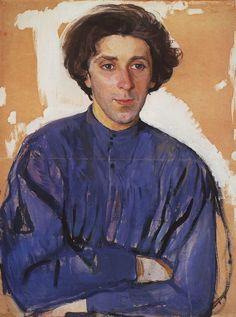 Zinaida Serebriakova ~ Portrait of G.I. Chulkov, 1910