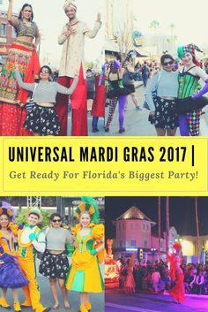 Universal Mardi Gras 2017 | Get Ready For Florida's Biggest Party - USA