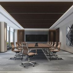 💪Creative craft decors for office walls? home office livin. 💪Creative craft decors for office walls? home office living room combo,non ph Corporate Interiors, Hotel Interiors, Office Interiors, Modern Office Design, Contemporary Office, Conference Room Design, Best Office, Office Walls, Office Den