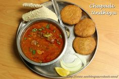Last weekend, my friend and her family came for dinner. Her husband love Undhiyu. She said we want to eat Undhiyu so please make it. I said ok. They had regular Undhiyu many times. So thought let's make different type of Undhiyu this time. My husband told me to make Chapadi Undhiyu. CHAPADI UNDHIYU …
