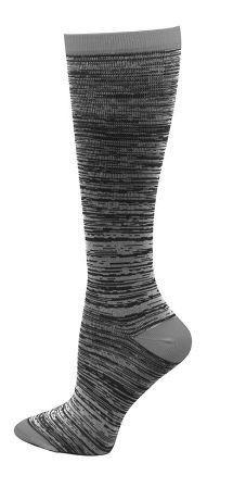Think Medical Grey Marled Womens Compression Socks for Nurses Size 9-11