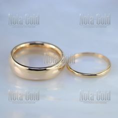 f97cd04af5ed Классические гладкие обручальные кольца бублики из красного золота (Вес пары   12 гр.)