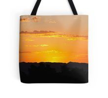 """Almost Up""  #sunrise #totebag by Henry Plumley 