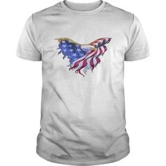 American Flag Eagle  Transparent Gif