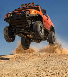 FJ Cruiser Flying