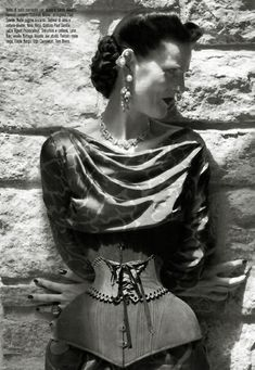 Stella Tennant | Steven Meisel | Vogue Italia October, 2011 | The Discipline ofFashion - 3 Sensual Fashion Editorials | Art Exhibits - Anne of Carversville Women's News