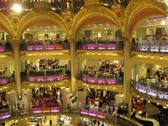 3. Shop in Paris :)