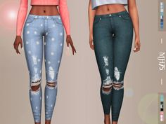 Sweety Jeans by Margeh-75 at TSR • Sims 4 Updates
