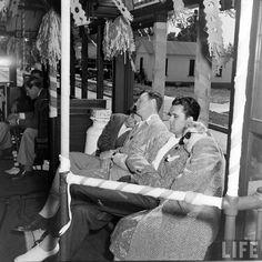 Streetcar Party . May 1942 . Photo by Bob Landry