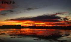 Sunset di tanah aceh