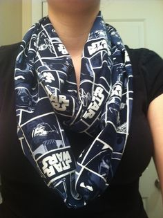Star Wars blue infinity scarf. Please someone get this for me for my birthday.